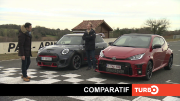 Toyota GR Yaris / MINI JCW GP, laquelle est la plus performante ? - Comparatif TURBO du 11/04/2021